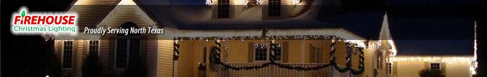 Firehouse Christmas Lighting